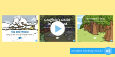 Songs and Rhymes PowerPoints Pack to Support Teaching on The Gruffalo's Child
