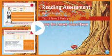 Year 5 Reading Assessment Poetry Term 2 Guided Lesson PowerPoint