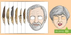 Political Party Role Play Masks