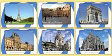 Paris Display Photos