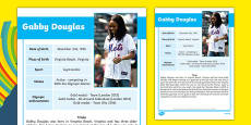 USA Olympians Gabby Douglas Fact File