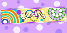 Circles Display Banner