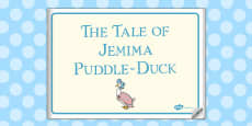 The Tale of Jemima Puddle-Duck eBook (Beatrix Potter)