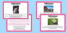 Guided Reading Skills Task Cards Inference Polish Translation