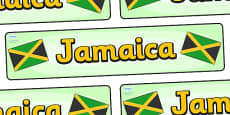 Jamaica Display Banner