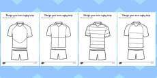 Design a Rugby Strip