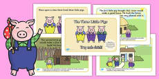 The Three Little Pigs Story Polish Translation
