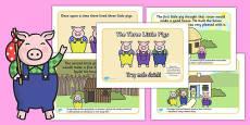 The Three Little Pigs Story Polish Translation