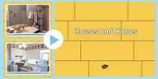 EYFS Houses and Homes Photo PowerPoint