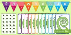 Koru Birthday Display Pack - Te Reo Maori / English