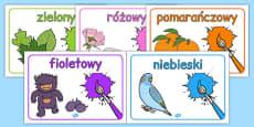 Colours Posters Polish