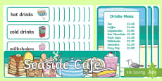 Seaside Cafe Role Play Pack