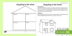 Recycling in the Home Activity Sheet
