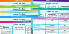 Under the Sea EYFS Lesson Plan and Enhancement Ideas