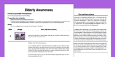 Elderly Awareness Assembly Script