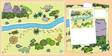 Dinosaurs Bee-Bot Mat