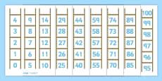 Number Ladder (0-100)