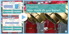 Pressure Quiz PowerPoint