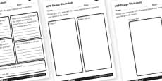 App Design Activity Sheet