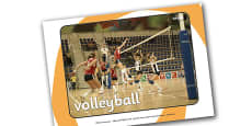 The Olympics Volleyball Display Photos