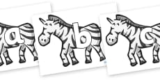 Phoneme Set on Zebras