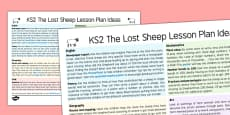 The Lost Sheep Lesson Plan Ideas KS2
