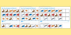Under the Sea Adventure Complete the Pattern Differentiated Activity Sheet Pack