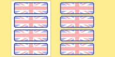 Editable Drawer - Peg - Name Labels (UK)