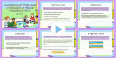 Australian Report Writing Bank of Statements Foundation to Year 6 Guidance PowerPoint