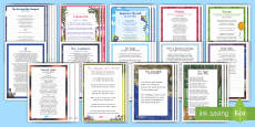 Handwriting Poems Bumper Assembly Pack