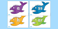 Phoneme Set on Fish to Support Teaching on Sharing a Shell