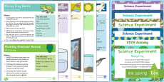EYFS Water Science Experiments Resource Pack