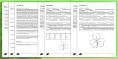 Saint Patrick Fifth and Sixth Class Reading Comprehension Activity