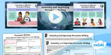 PlanIt Y6 Space: The Golden Record Lesson Pack Persuasive Writing (3)