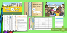 Back to School Classroom Set-Up Resource Pack