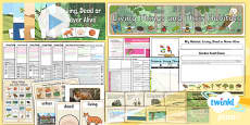 PlanIt - Science Year 2 - Living Things and Their Habitats Unit Pack