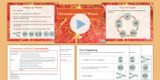 AQA Unit 4.1 Chromosomes and Mitosis Cover Lesson Pack