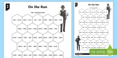 On the Run Addition and Subtraction Differentiated Game