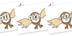 Tricky Words on Hullabaloo Owl to Support Teaching on Farmyard Hullabaloo