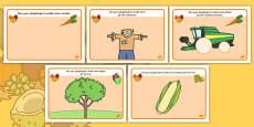 Harvest Playdough Mats