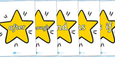Conjunctions on Stars