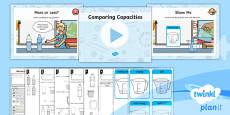 PlanIt Y1 Measurement Lesson Pack Understanding Capacity (1)