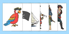 Pirate Cut Outs