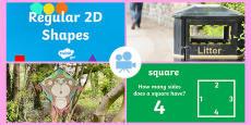 KS1 Properties of Regular 2D Shapes Video
