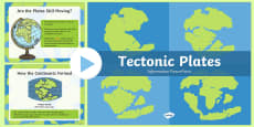 Tectonic Plates PowerPoint Presentation