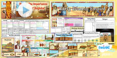 PlanIt - History UKS2 - Early Islamic Civilisation Unit Pack