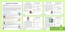 60-Second Reads: Fairy Tales Activity Cards