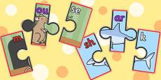 Phoneme Segmentation Jigsaws Set 1
