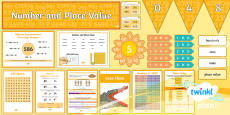 PlanIt Y3 Number and Place Value Display Pack