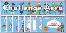 Challenge Area Pack (Superheroes)